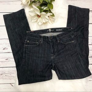 [7FAM] Standard Button Fly Jeans Size 29